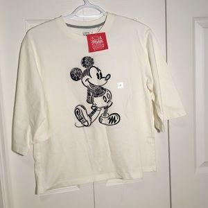 Uniqlo 3/4 sleeve shirt